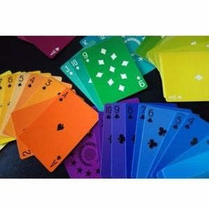 Rainbow Deck of Playing Cards